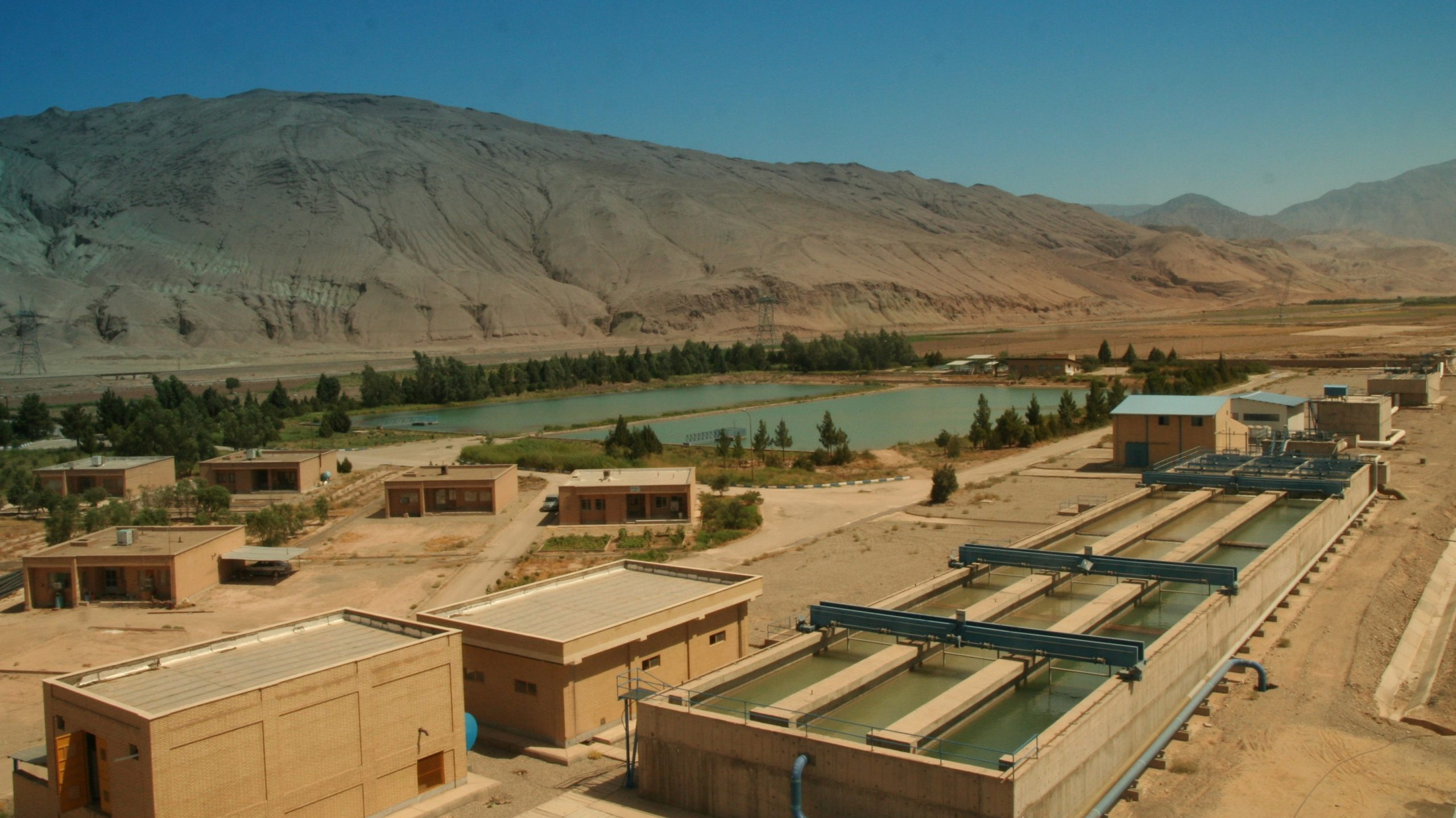 Garmsar, Water treatment plant                        Reference  No.846